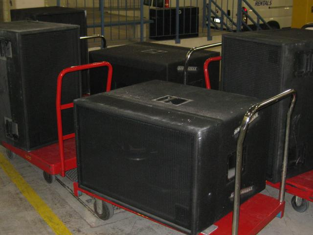 Large Speakers for Grand Theatre
